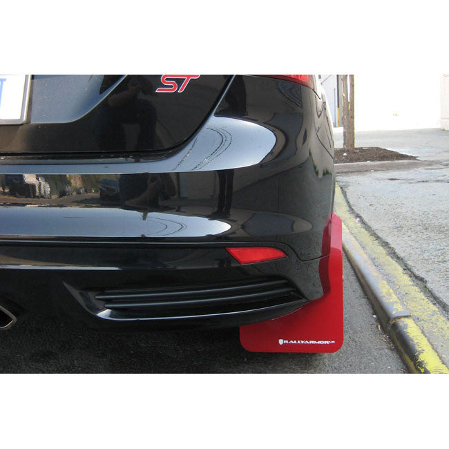 Focus St Mud Flaps >> Rally Armor Urethane Mud Flaps 2012 Focus St Rs