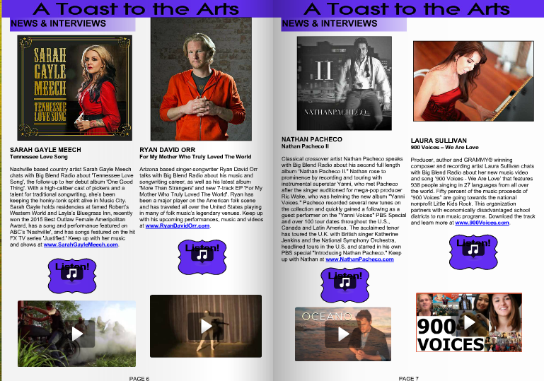 900 Voices Featured in Big Blend Magazine!