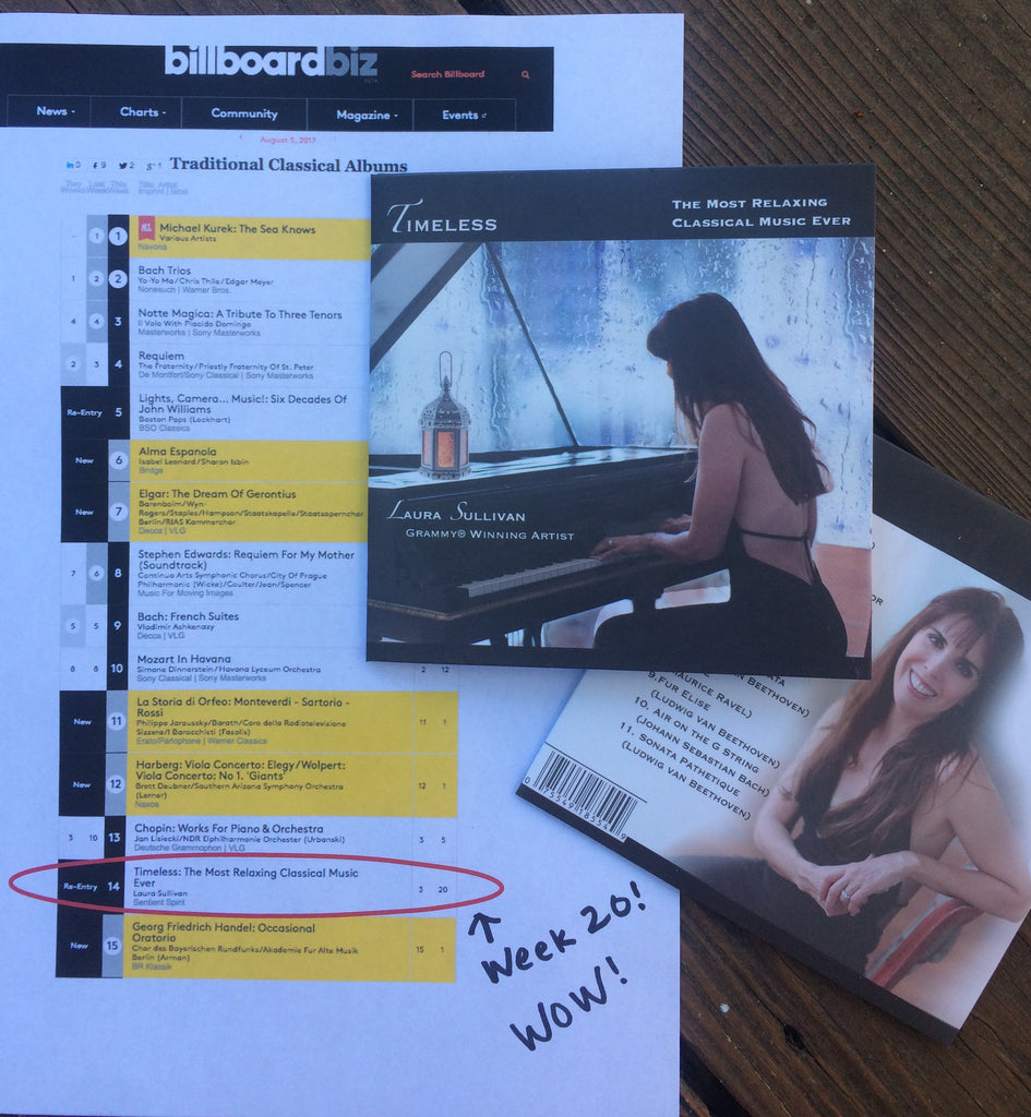 20 Weeks on the Billboard Best Seller Chart!