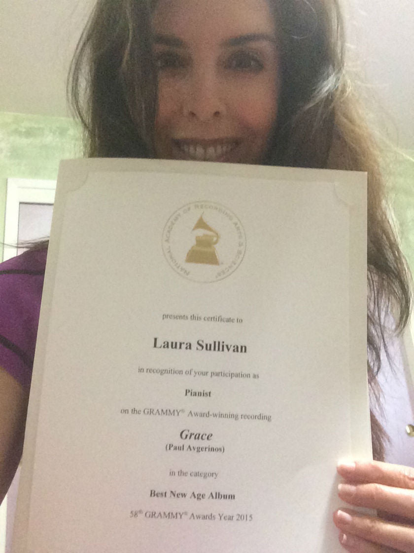Grammy® Certificate for Grace by Paul Avgerinos