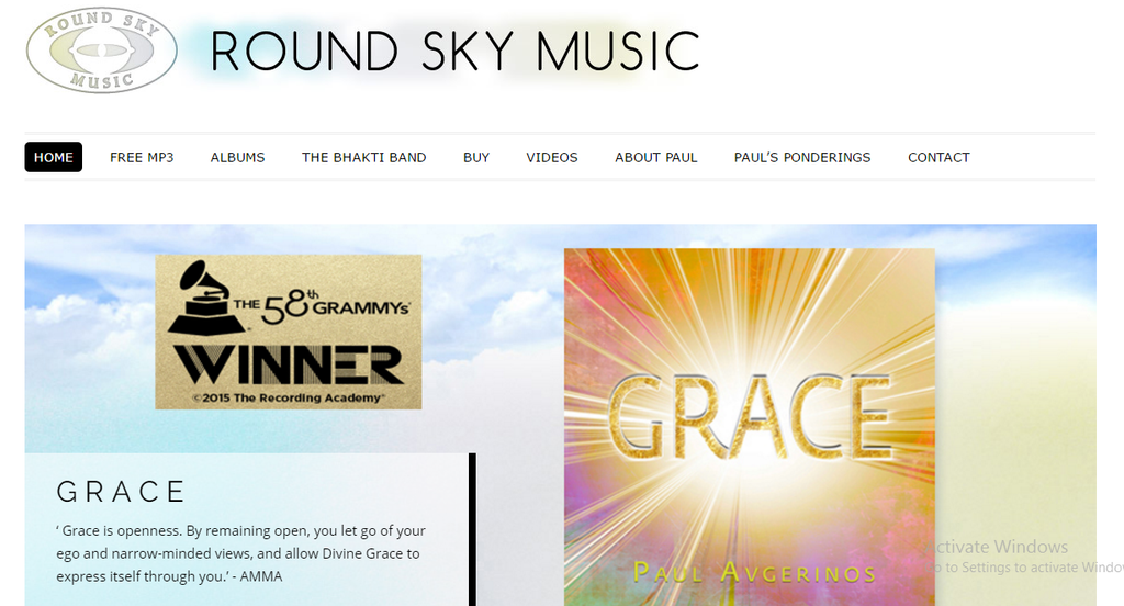 Grammy® Nomination for Grace!