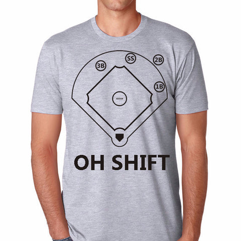 OH SHIFT - Warning Track Apparel