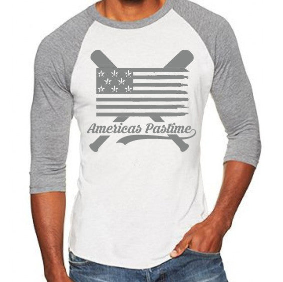 America's Pastime 3/4 Sleeve - Warning Track Apparel