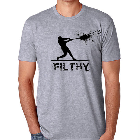 Filthy Grey - Warning Track Apparel
