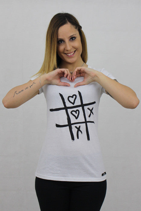 Cross & Heart T-shirt - theorganictshirt
