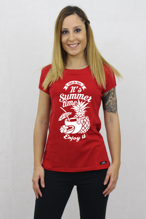 Women's It's Summer Time T-shirt - The Organic Tshirt