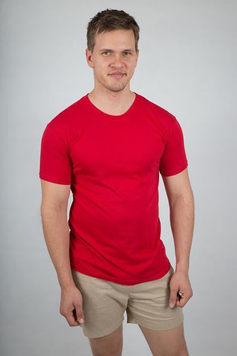 Men's Round Neck T-shirt - The Organic Tshirt