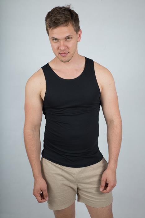 Regular Fit Singlet - theorganictshirt