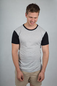 Stripes T-shirt - theorganictshirt