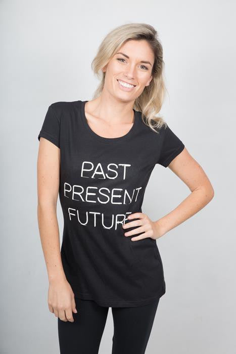 Past Present Future T-shirt Woman - theorganictshirt
