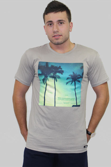 Men's The Summer Way T-shirt - The Organic Tshirt