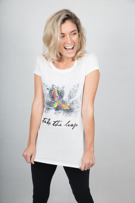 Take The Leap T-shirt Woman - theorganictshirt