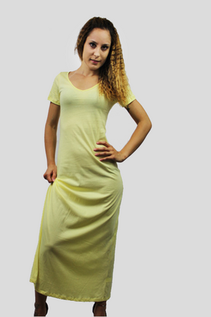 Women's Maxi T-shirt Dress - The Organic Tshirt