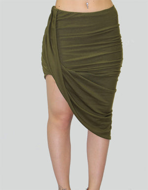 Women's Wrapped Skirt - The Organic Tshirt