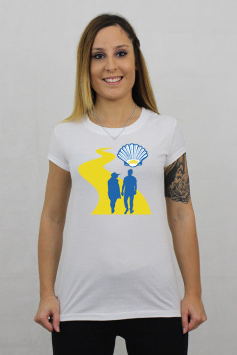 Camino white t-shirt made in Australia 100% organic cotton.