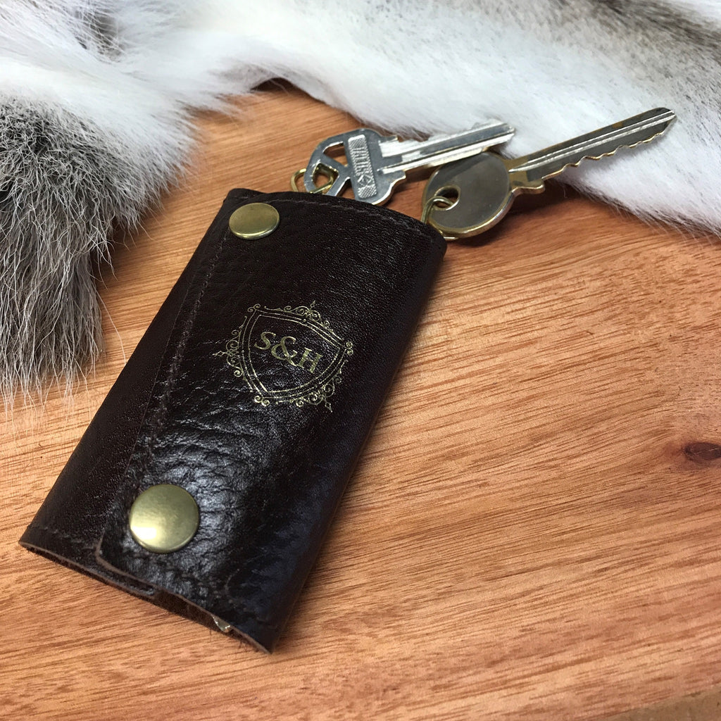 Leather Adventurer Keyring Practical