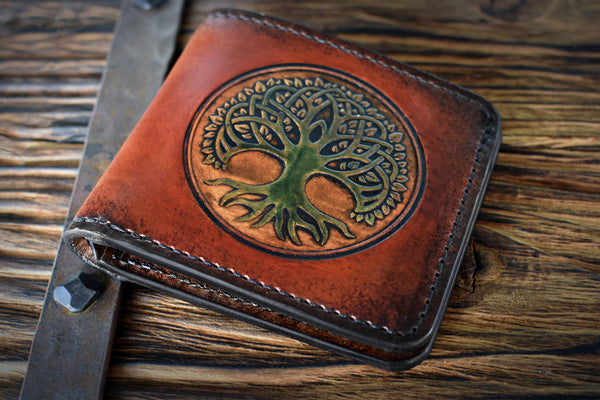 The Standard Leather Bi-Fold Wallet