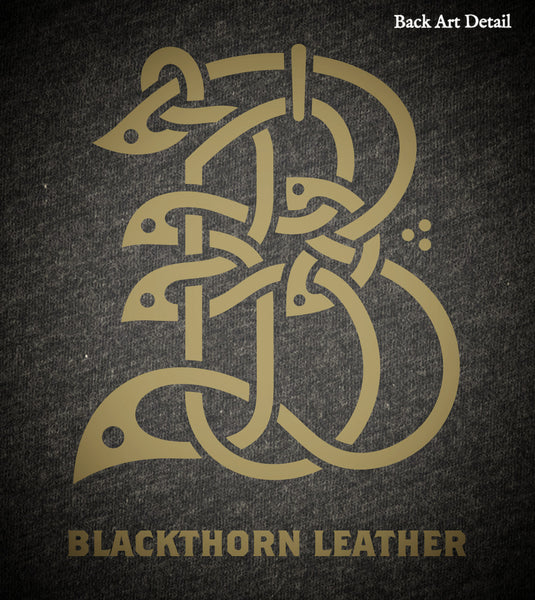 "Blackthorn Leather ""Single Malt"" T-Shirt LIMITED EDITION"