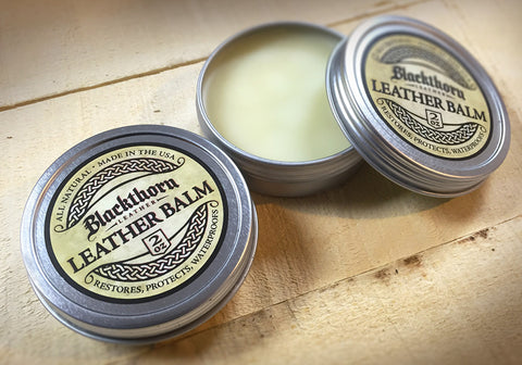 Blackthorn Leather Balm