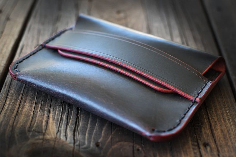 LIMITED: Black Cherry Ghost Garrison Wallet