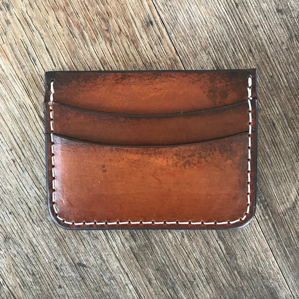 THE GATEHOUSE: Minimalist Credit Card Wallet with money clip, Everyday Carry Wallet