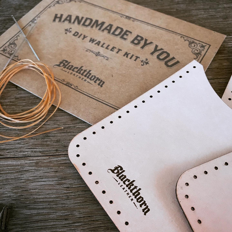 ROVER II DIY LEATHERCRAFT KIT: Make Your Own Minimalist Credit Card Wallet