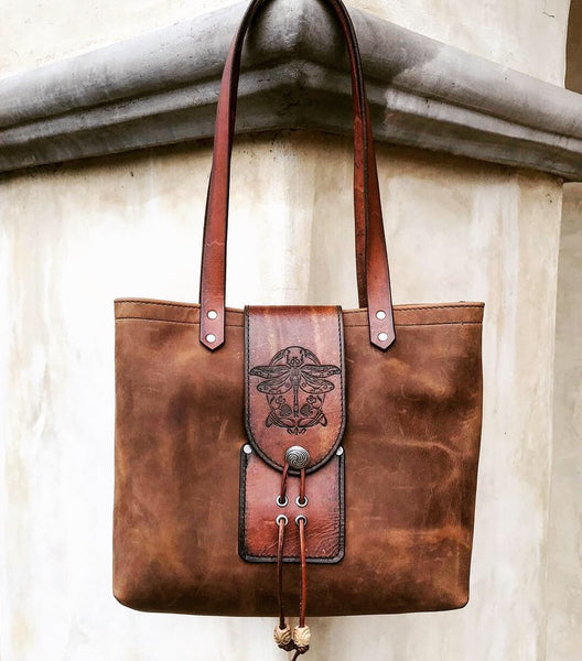Alex Tote - CrazyHorse Brown