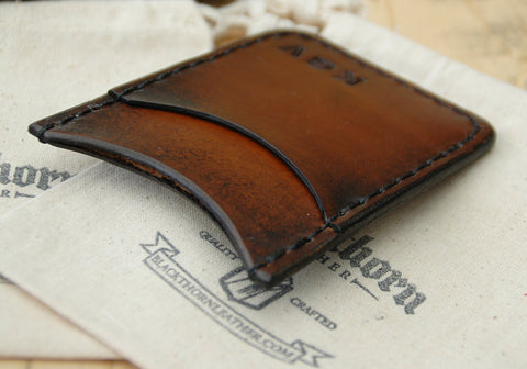 THE ROVER II: Minimalist Credit Card Wallet with Money Clip