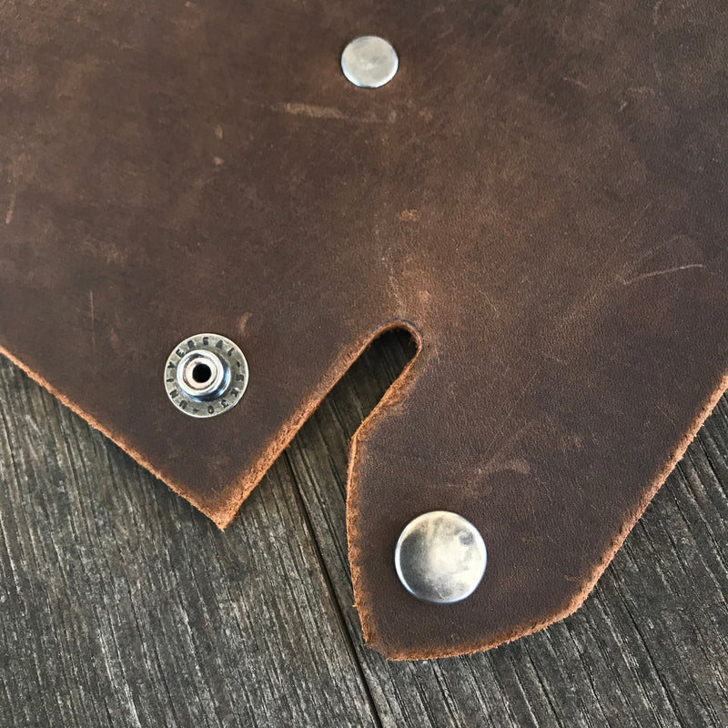 Leather Valet Tray, Leather Catch All, Custom Leather Tray - SWALLOW TATTOO