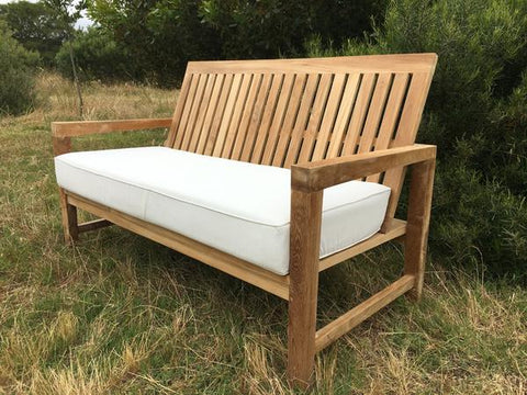 Lindy Love Seat - THE TEAK PLACE