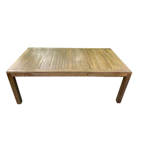 Outlet Teak Dining Table 240 x 120cm