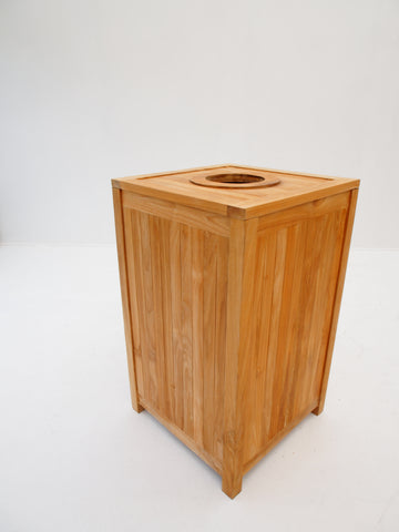 Rubbish Bin - The Teak Place