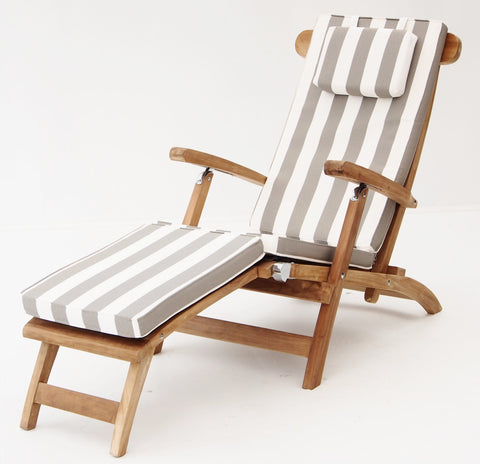 Sunproof Steamer Lounge Cushions - The Teak Place