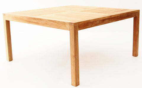 Modern Square Dining Table - The Teak Place