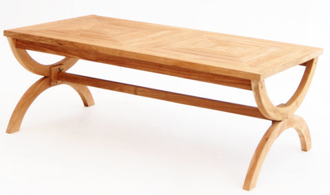 Paris Rectangle Coffee Table - The Teak Place