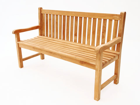Hyde Park Garden Benches - THE TEAK PLACE