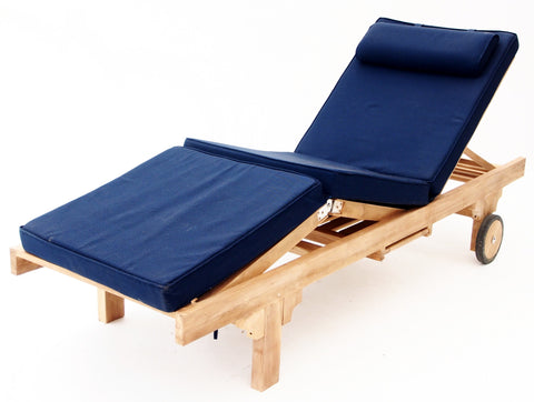 Sunproof Sun Lounge Deluxe Cushions - THE TEAK PLACE