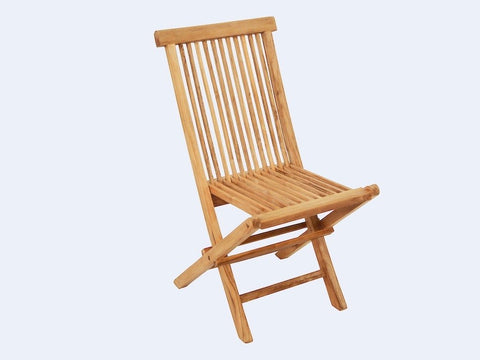 Outlet Slatted Folding Chair