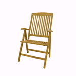 Teak Reclining Chair - The Teak Place