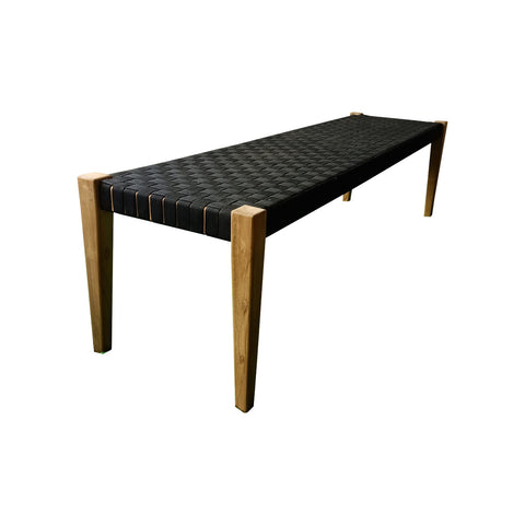 Coady Teak & Sunproof Strapping Bench