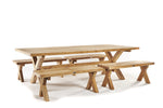 Outlet Cross Leg Dining Table 300 X 120CM (Seconds)