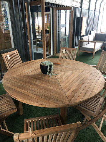 Tye Round Table - THE TEAK PLACE