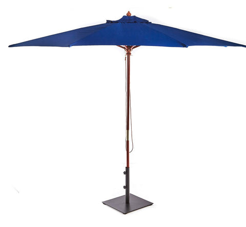 Blue Market Umbrella -  The Teak Place