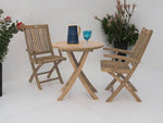 2 Seater Table and Chairs - THE TEAK PLACE