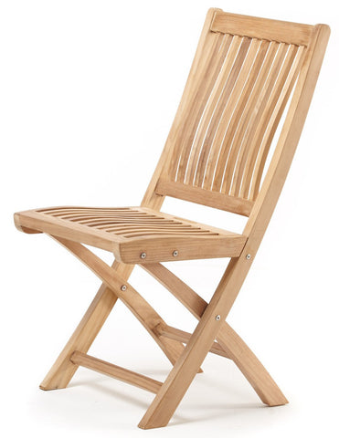 Leo Folding Dining Chair - The Teak Place