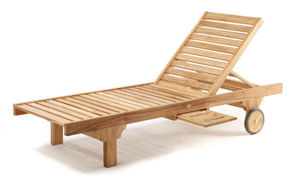 SUN LOUNGE TRADITIONAL, n/a - THE TEAK PLACE, Sun Lounges teak outdoor furniture