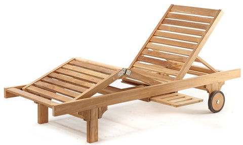 n/a - THE TEAK PLACE, Sun Lounges teak outdoor furniture