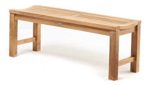 Vivienne Straight Leg Bench - THE TEAK PLACE