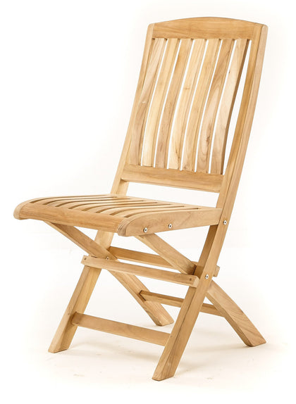 Vivienne Folding Chair, n/a - THE TEAK PLACE, Seating teak outdoor furniture