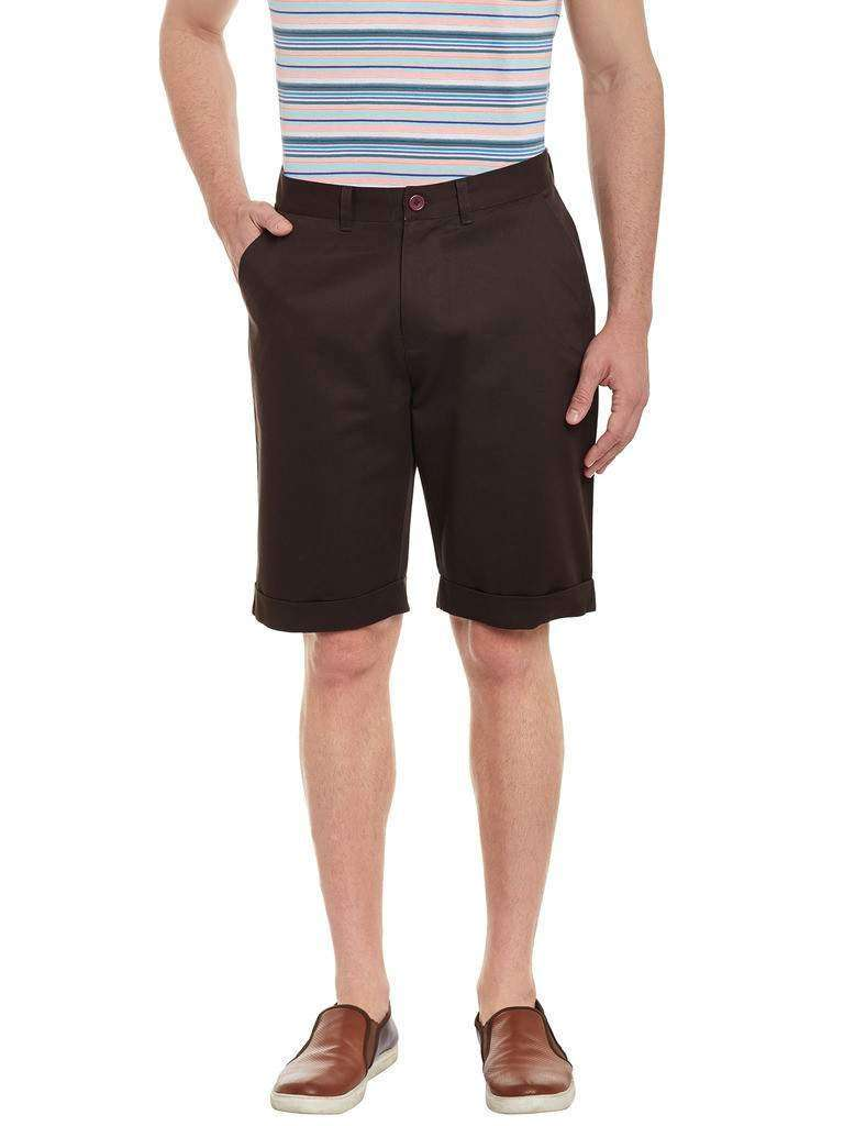 Atorse Mens Coffee Colour Shorts